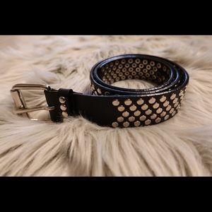 Vintage DKNY studded belt
